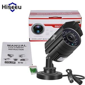 Image 5 - Hiseeu AHDH 1080P מתכת מקרה AHD אנלוגי בחדות גבוהה מתכת מצלמה AHD CCTV מצלמה אבטחה חיצוני משלוח חינם AHBB12