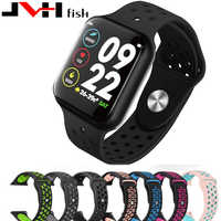 Novo iwo10 f8 smartwatch ip67 à prova dip67 água freqüência cardíaca pressão arterial dos homens do esporte relógio inteligente pulseira para android ios
