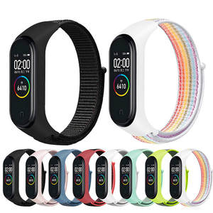 Nylon-Strap Bracelet Wristband Xiaomi Colorful Breathable 3-4-Replacement for 3-Accessories