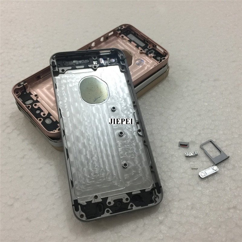 JIEPEI Housing iPhone Battery-Cover Chassis-Frame Glass Door Original for SE
