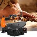 LISM SSA16LV 120 Вт джиг пилы DIY прокрутки пила для древесины глубина резки 50 мм пилы (бесплатно 10 шт. лезвия) Скорость Регулируемая резка машина