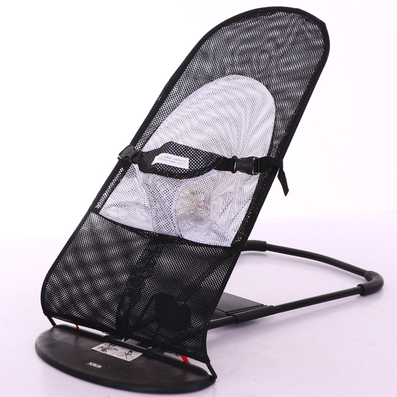 Baby Rocking Chair To Soothe The Couch Baby Newborn Multifunctional Folding Cradle Bed Baby Artifact