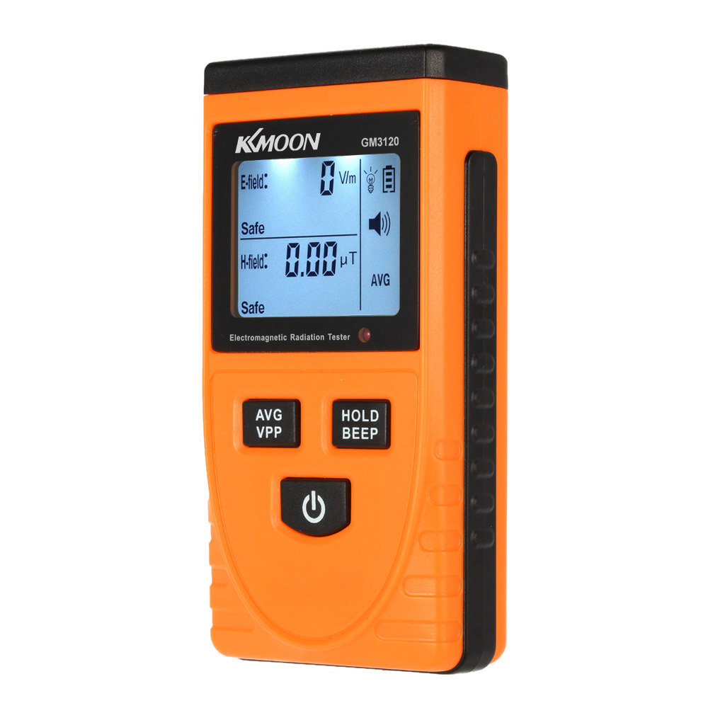 Electromagnetic Field Radiation Tester Meter Handheld Counter Digital Dosimeter LCD Detector Measurement For Computer Phone