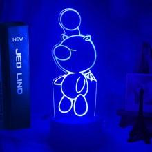 Фигурка игрушки «финальная фантазия», светодиодный ночсветильник, лампа для детской спальни, Декор, меняющий цвет, ночсветильник, крутой Де...