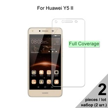Tempered Glass For Huawei Y5 II Y5 2 HD Explosion-proof Full Cover Screen Protec