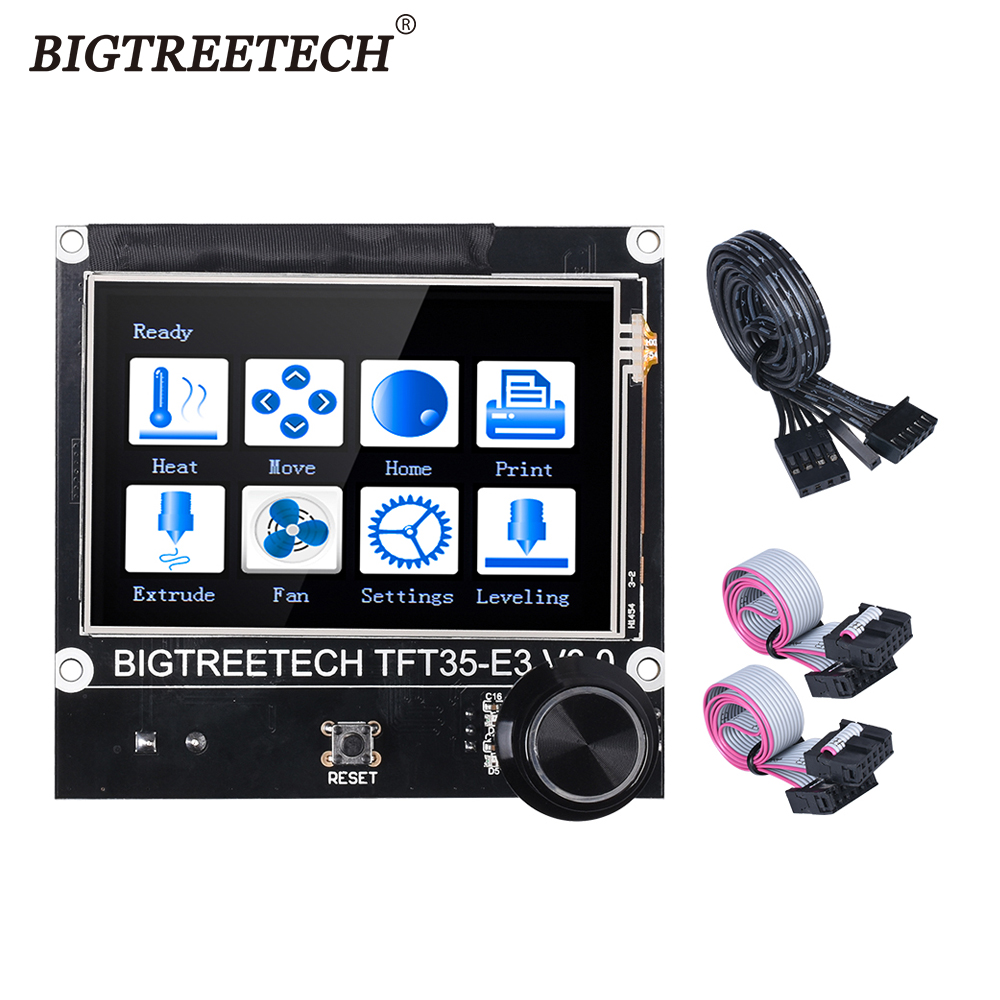 BIGTREETECH TFT35 E3 V3 0 Touch Screen 12864 LCD Display WIFI Module 3D Printer Parts For Ender3 CR10 SKR Mini E3 SKR V1 3