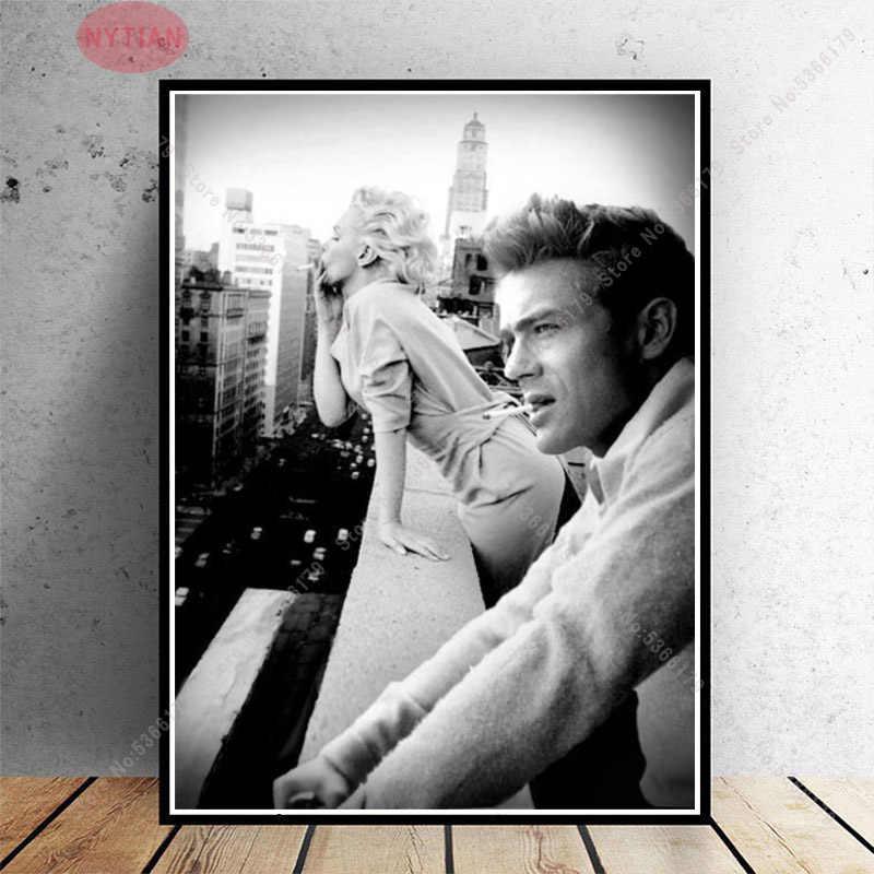 James Dean and Marilyn Monroe Blanket KIDS // MEDIUM // LARGE