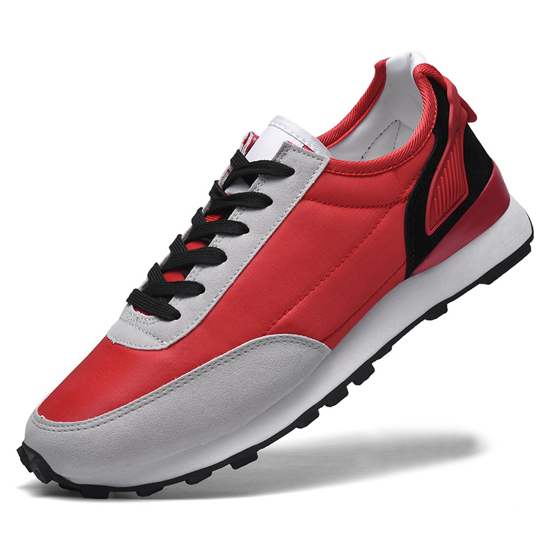 Mens Walking Shoes Lace up Comfy Gym Sneakers Running Sports Trainers Boots