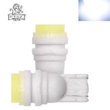 2Pcs T10 W5W LED Car 12V COB White Light Auto Interior Width/Wedge/Trunk/Reading/Door Small Light-emitting Diode Lamp Bulb