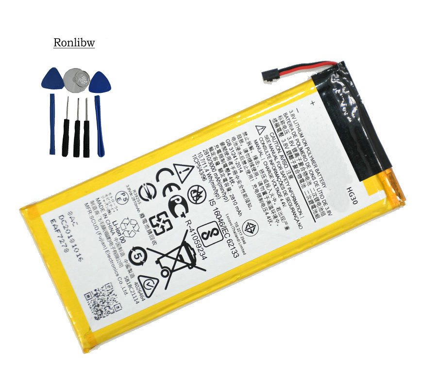 Ronlibw 3000mAh HG30 Battery Replacement For Motorola Moto G5S Plus Battery Dual XT1791 XT1792 XT1793 XT1794 XT1795 XT1805
