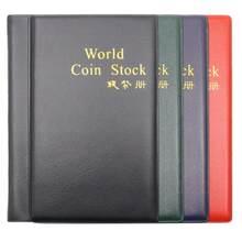 Альбом для монет с 120 карманами, книга для сбора монет, Мини Пенни, альбом для хранения, книга для сбора монет для коллекционера, подарки