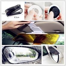 Автомобильный солнечный свет для вождения, зеркальные солнцезащитные стекло с защитой от дождя клип пленка держателя для BMW 530Li 335i 750i 330i 325i 320si 630i X6 M6 640i 640d