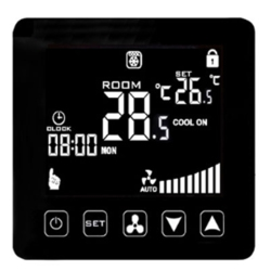 Central Air Conditioner Temperature Controller WIFI Smart Thermostat 2/4 Pipe Air Conditioning Cooling Heating Thermostat Fan Co
