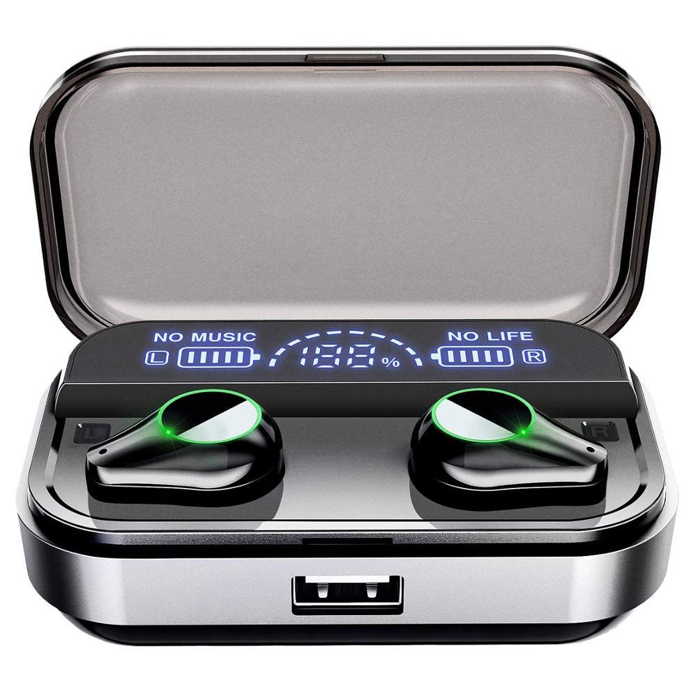 T10 TWS Bluetooth casque empreinte digitale tactile HD stéréo réduction du bruit casque de jeu fone de ouvido sans fil Bluetooth écouteur