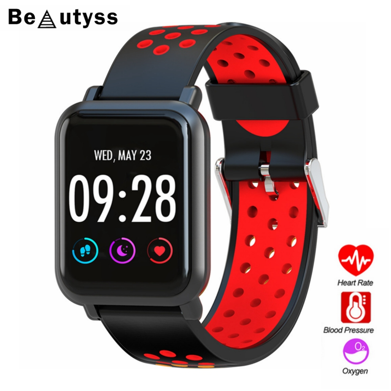 Smartwatch Gorilla Amazfit Bip Activity-Tracker IP68 Glass Beautyss Oled-Screen Blood-Oxygen