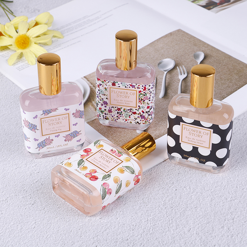 30ml 4 Flavors Fragrance Body Mist Naturally Wild Fresh Scent Perfume Fragrance Spray Portable Travel Perfume In Bag