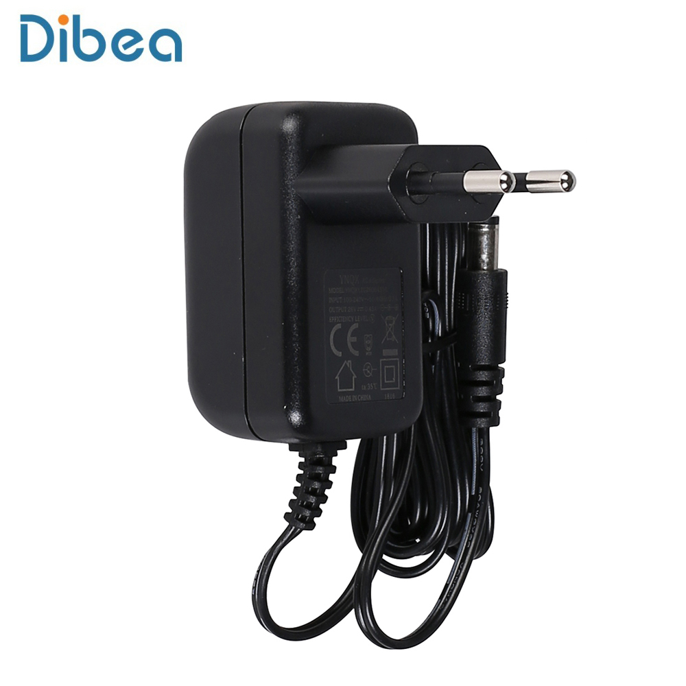 Dibea D18 Vacuum Cleaner EU Plug AC Power Adapter Wall Charger