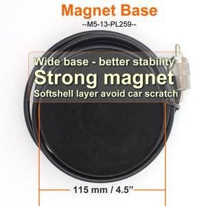 Image 5 - Магнитный фидерный кабель, диаметр 12 см, 5 м, PL259, магнитное крепление для автомобильной антенны, основание для автомобильного радиоприемника, для автомобиля, для радио, для автомобиля, с магнитом, для автомобиля, 5 м, KT8900, 1, 5 м, 1, 5 м, 1, 5 м, 1, 1, 1, 5 м, 1, 5 м, 5 м, 5
