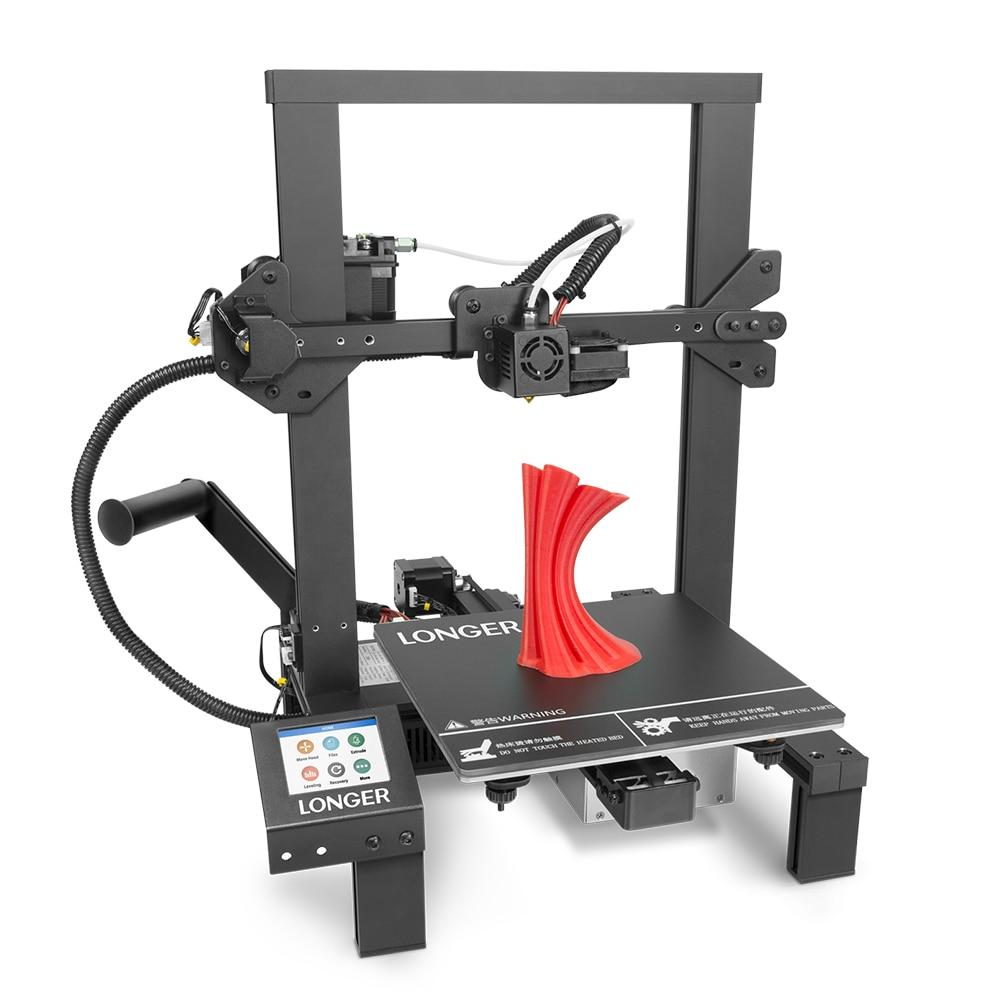 Более длинный 3D принтер LK4 FDM 3d принтер с сенсорным экраном 3d печать V slot восстановление печати сбой питания печать