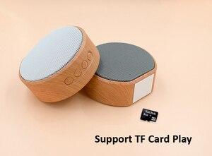 Image 4 - Hạt Gỗ Bluetooth Hỗ Trợ Thẻ TF Mini Di Động Loa Siêu Trầm Loa Không Dây Hỗ Trợ Âm Thanh Aux Trong Tay Và Bàn Tay Gọi Miễn Phí