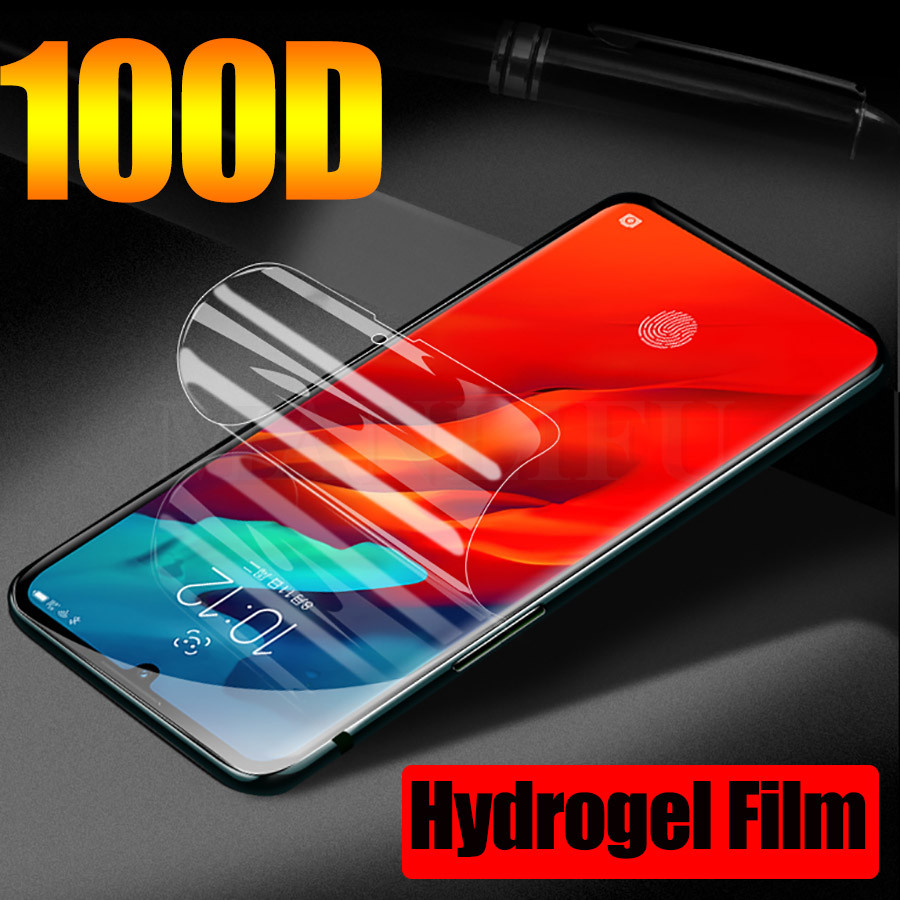 100D Full Hydrogel Film For Lenovo S5(K520) Z5 Z5s Z6 Pro Z6 Lite Z6 Z5 Soft TPU Screen Protector Lenovo K6 K10 Note (Not Glass)