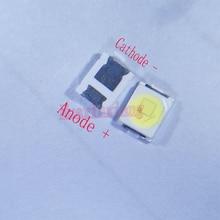 500 Cái/lốc Jufei 1W 2835 3V LED SMD 3528 88LM Trắng Mát Cho TV/Màn Hình LCD Có Đèn Nền