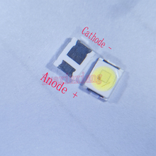 500pcs/Lot Jufei 1W 2835 3V SMD LED 3528 88LM Cool white For TV/LCD Backlight