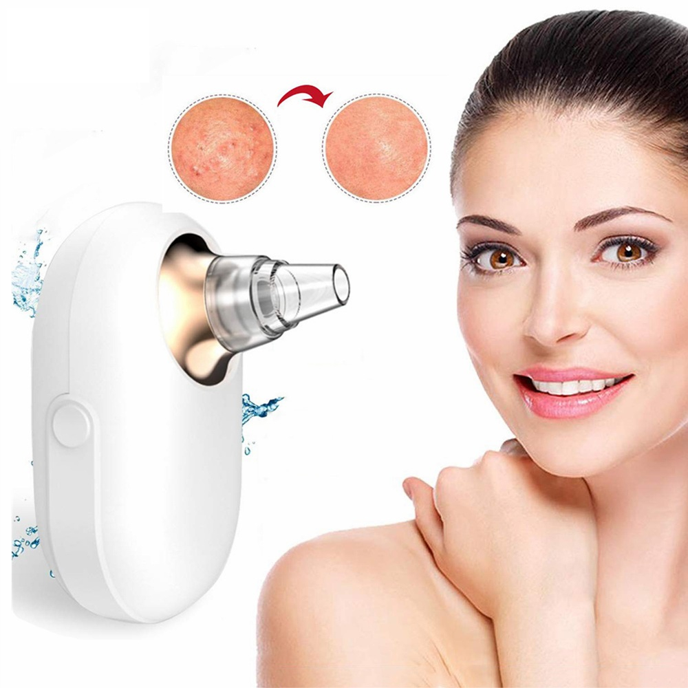 Electric Vacuum Acne Pore Cleaner Woodpecker Blackhead Pimple Cleaning Instrument Beauty Remover Facial Skin Care Deep Clean