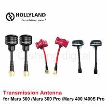 Hollyland lollipop/cogumelo/triumph antena para marte 300 marte 300 pro mars 400 400s pro transmissor sistema de transmissão sem fio