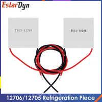 TEC1-12706-refrigerador termoeléctrico TEC1-12705, Peltier, 40x40MM, 12V, novedad de refrigeración de semiconductor, 12706 TEC