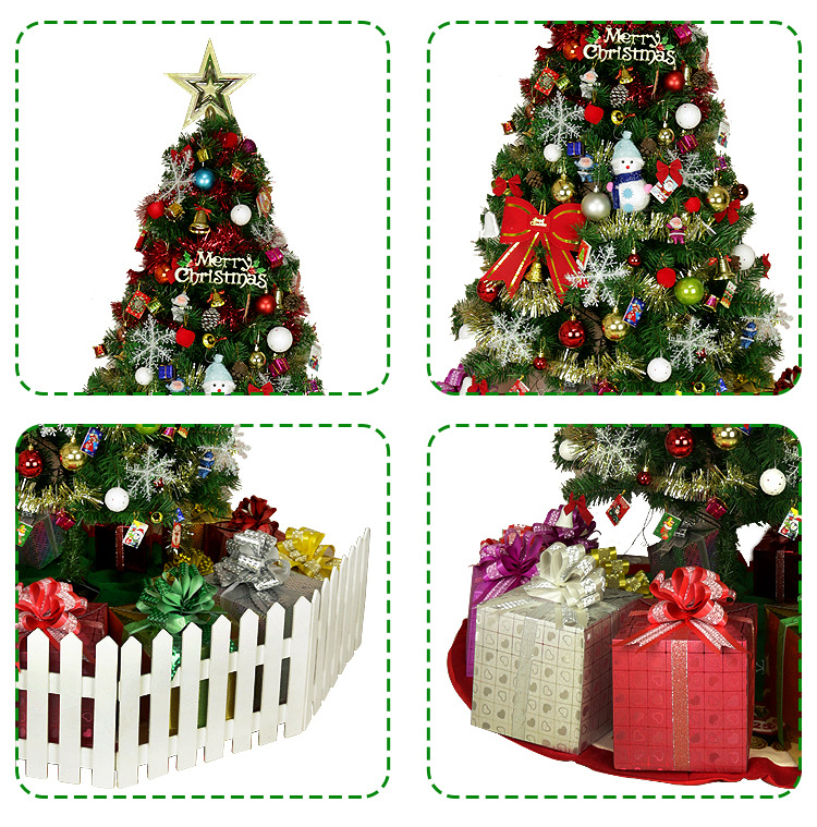 Luxury Encrypted Optical Fiber Christmas Tree LED Colorful Luminous Christmas Tree Package Merry Christmas Decoration - 5