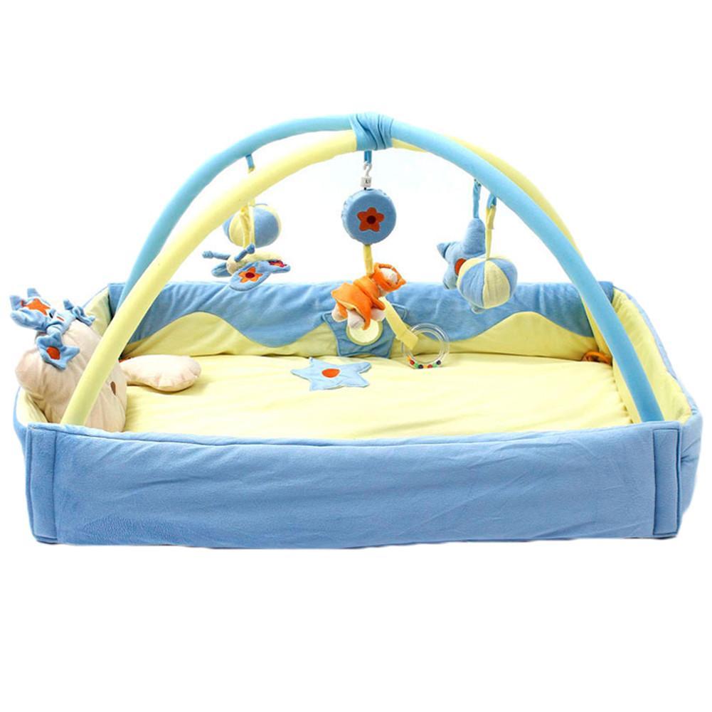Jeu couverture poudre princesse bleu Prince augmentation jeu pad ramper tapis ramper tapis support fitness cadre bébé jouets