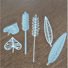Kokorosa Leaf Metal Cutting Dies New 2019 for Craft Scrapbooking Leaves Autumn Harvest For Card Making Album Embossing