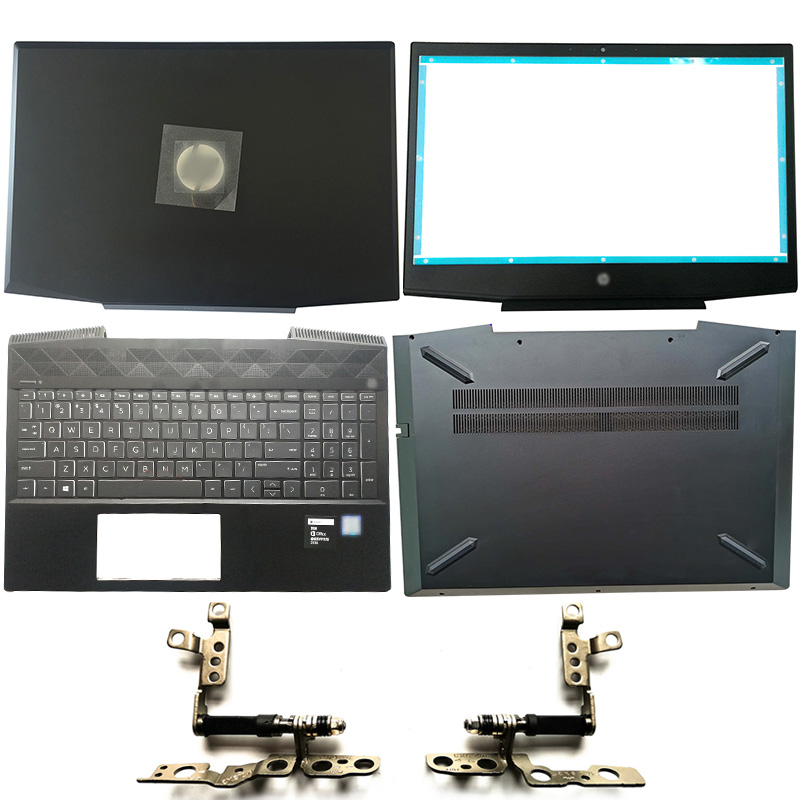 NEW Laptop LCD Back Cover/Front Bezel/Hinges/Palmrest/Bottom Case For HP Pavilion 15-CX Series TPN-C133 L20314-001