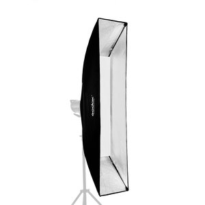 "Image 5 - 2PCS Godox 12 ""x 47"" 30x120 cm רצועת כוורת רשת מלבני Softbox עבור תמונה Strobe סטודיו פלאש Profoto הר Softbox"