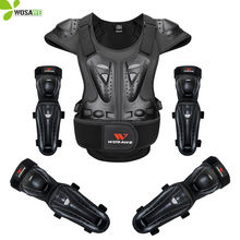 WOSAWE Adult Full Body Protection Sports Back Support Snowboard Ski Cycling Motocross Vest Jacket Elbow Knee Pads MTB Suit