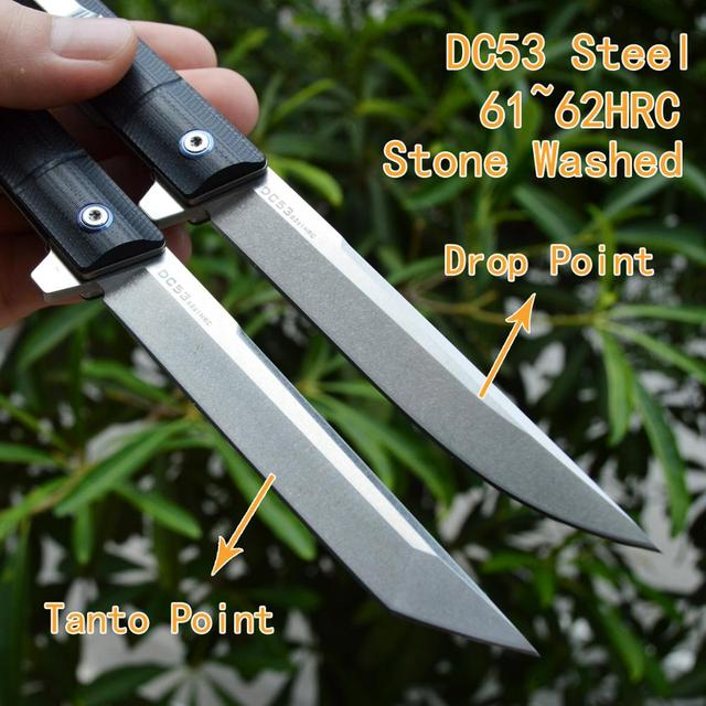 FORESAIL Folding Knife DC53(A8)Steel and 5 2