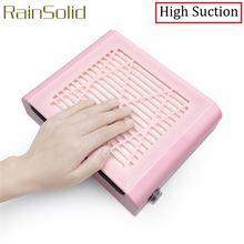 Маникюрный пылесос для ногтей rainsolid аппарат маникюра с низким