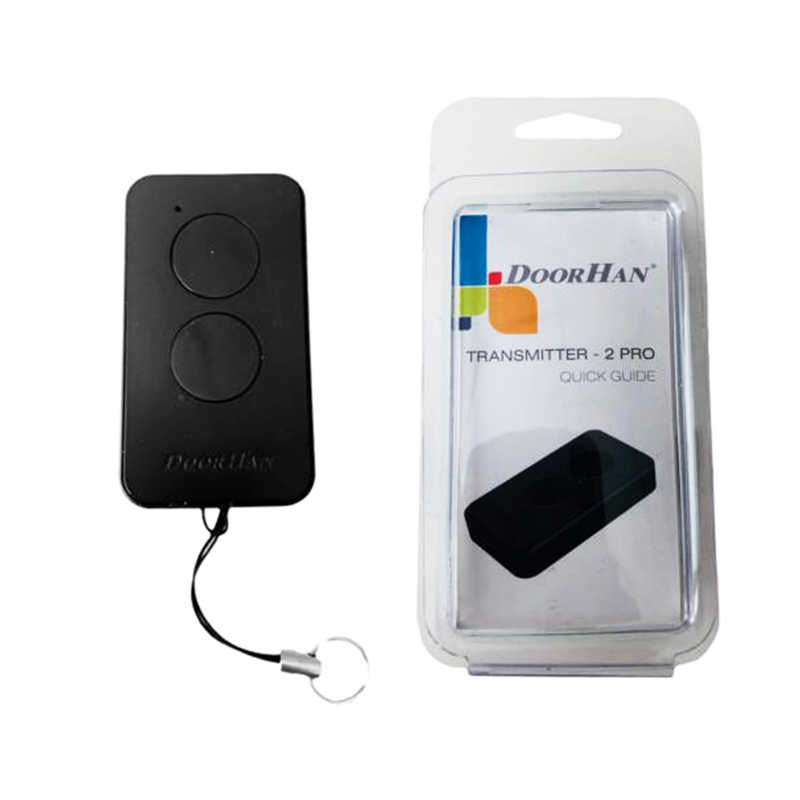Remote Control Transmitter DOORHAN 2 Pro Black for gates and barriers garage door remote control very 2019