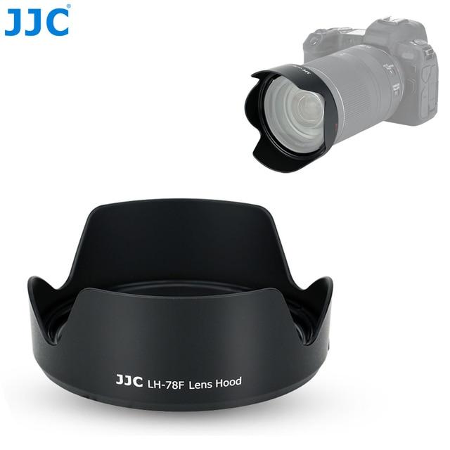 JJC caméra pare soleil réversible pour Canon RF 24 240mm f/4 6.3 est objectif USM sur Canon EOS R EOS RP EOS Ra remplace CANON EW 78F