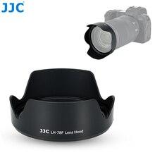 JJC kamera geri dönüşümlü Lens Hood Canon RF 24 240mm f/4 6.3 IS USM Lens canon EOS R EOS RP EOS Ra geçer CANON EW 78F