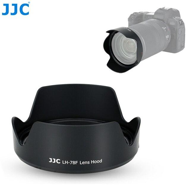 Jjc カメラ可逆レンズフードキヤノン RF 24 〜 240 ミリメートル f/4 6.3 は USM レンズキヤノン Eos R EOS RP EOS Ra 置き換えキヤノン EW 78F