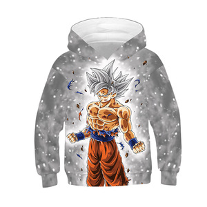 Image 4 - Toddler Sweatshirt Goku Boys Hoodies Kids Clothes Fall 2019 Fashion Dragon Ball Hoodie Long Sleeve Hooded Coat Vetement Fille