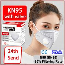 Dhl n95mask-3m Reusable Respirator Facemask Mascarillas Women Men Fashion face-mask-protective ffp3mask-n95 #95(China)