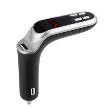 Аксессуары Bluetooth автомобильный комплект громкой связи fm-передатчик радио MP3-плеер USB быстрое и интеллектуальное зарядное устройство и AUX# P10