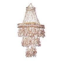 Carillon a vento conchiglia conchiglia per esterno appeso coperta pendente conchiglia appeso ornamento decorazione della parete per giardino di casa