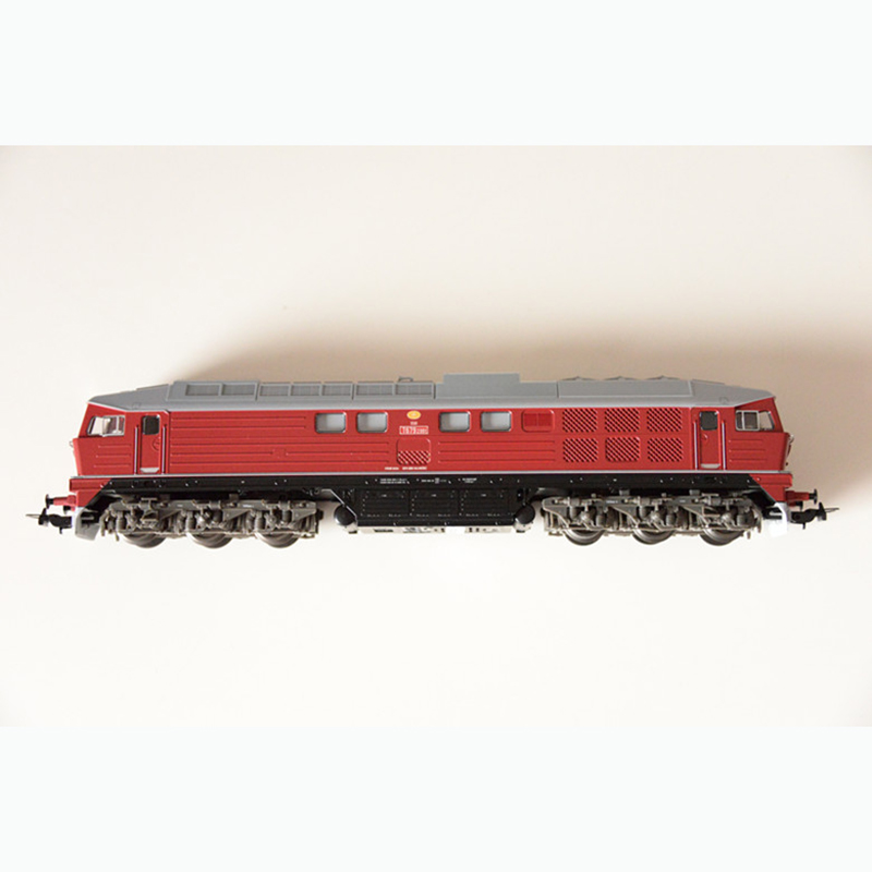 1:87 German Train Model 59750 HO Czech National Railway T679 Red Five Star Diesel Locomotive Gift