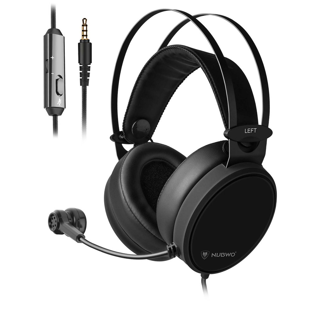 Xiberia Nubwo N7 PC Casque Bass Stereo Gaming Headphones For PS4 For New Xbox One Headset For Mobile Phone Tablet With Mic