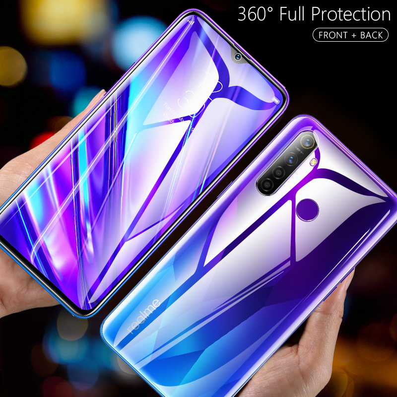Front + Back 3D Full Curved Film For Realme 5 Pro X2 XT Screen Protector Full Cover nano Hydrogel Film for Realme X2 pro C2 3i Q