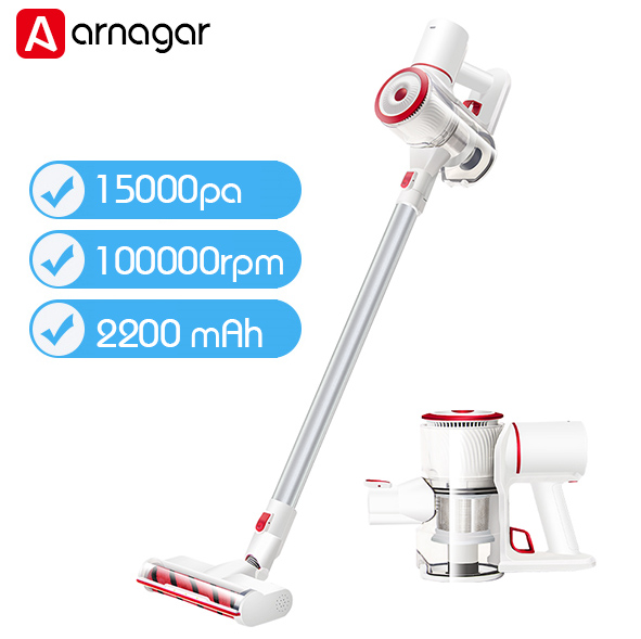 2019 New Arnager V10 cordless Vacuum Cleaner Cyclone Handheld Wireless Dust Collector super Suction Aspirator